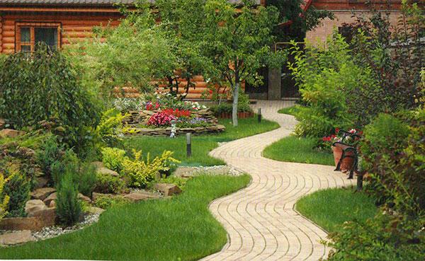 Ландшафты сада своими руками